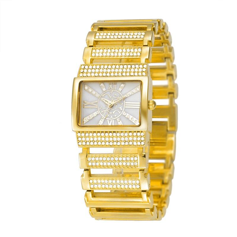 2017 Belbi Women Watch Ladies Fashion Alloy Quartz Watches Dress Quartz-Watch Rhinestone Roman Style Luxury Wristwatch Relojes<br><br>Aliexpress