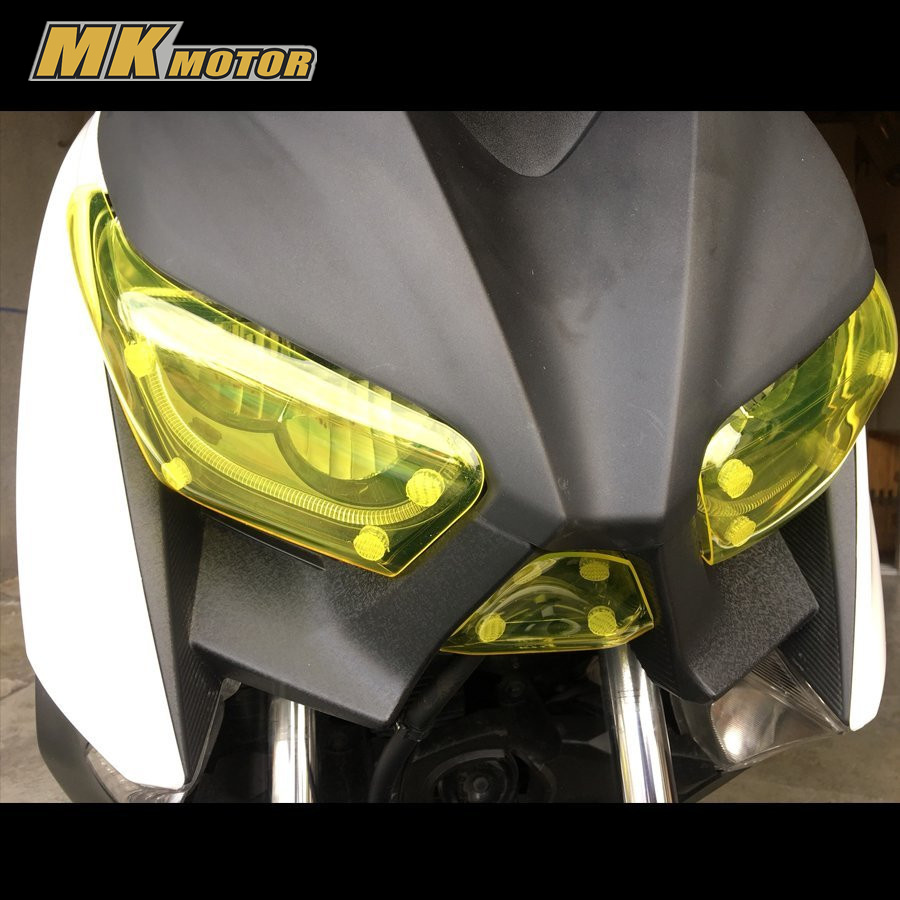 2017 New Motorcycle For Yamaha X MAX 250 300 2016 2017 2018 Accessoris acrylic Headlight Screen Protective Cover xmax <br>