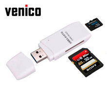 VENICO Electronic Mini 5Gbps Super Speed USB 3.0 Micro SD/SDXC TF External Card Reader Adapter Mac OS Pro SD Card Usb Adaptor(China)