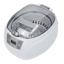 SKYMEN JP-900S Mini Ultrasonic Cleaner 0.75L 35W 42kHz Baskets Jewelry Watches Digital Mini Ultrasonic Cleaner 220v EU Plug