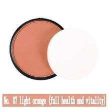 NANI monochrome *No.07* blush rouge powder orange pink pearl matte blush pink manufacturers wholesale 8 colors 1Pcs/lot(China)