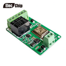 New Arrival 1Pcs Green ESP8266 10A 220V Network Relay WIFI Module Input DC 7V~30V Modules(China)