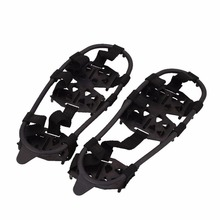 1Pair Crampon Winter Outdoor Camping Hiking Clambing Anti Slip Ice Cleats Shoe Boot Grips Crampon Chain Spike Sharp Snow