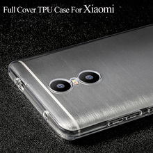 Anti-Knock Transparent TPU Case For Xiaomi Redmi 4 Pro Prime 3S 3X Note 4 Note 3 For Xiaomi Mi5 Cover Phone Cases Silicon Coque