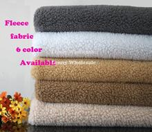 150*50cm sherpa fleece, Lamb fur fabric, polar fleece fabric plush cloth liner lining cloth, plush fabric free shipping(China)
