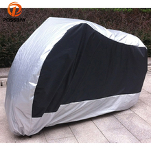 POSSBAY M/L/XL/XXL/3XL Motorcycle Covers Waterproof Outdoor UV Protector Bike Rain Dustproof Motorbike Scooter Cover for Honda(China)