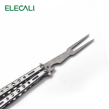 Not Sharp Knife Butterfly Practice Knife Camping Tableware Balisong Knife Butterfly Knife