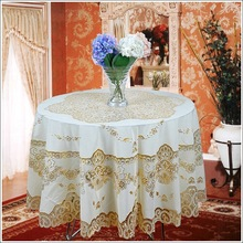 Hot Sale Europe Classic Style Oilproof Table Cloth Home Decoration Banquet Wedding Party Table Cloth Waterproof Table Cover