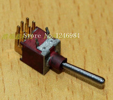 [SA]ES-7B dual trigger gilded six feet are bent single reset small toggle switch waterproof overstock M5.08 { }--100PCS/LOT(China)