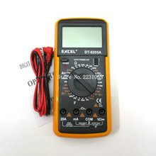 DT9205A AC DC LCD Display Professional Electric Handheld Tester Meter Digital Multimeter Multimetro Ammeter Multitester(China)