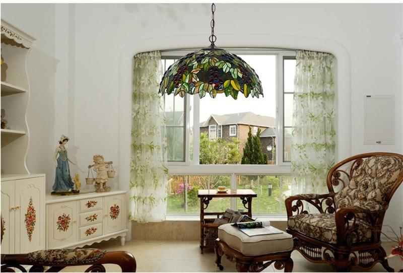 Tiffany hanging lamp light (6)