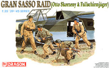 1/35 scale model Dragon 6094 raid big Sasso mountain (Otto. Scolzni and German paratroopers commando)(China)
