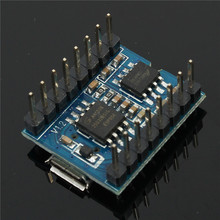 5PCS MP3 WAV Voice Music Play Board Module BY8301-16P 32M Micro USB Download Capacity Support Player Serial Control