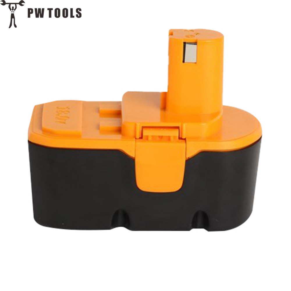 PW TOOL 18V 2000mAh Ni-Ca Battery Rechargeable Large Capacity Long Life Fast Charge Replace Battery for Power Tool Accessories<br>