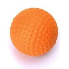 Wholesale 5* A golf practice of orange ball