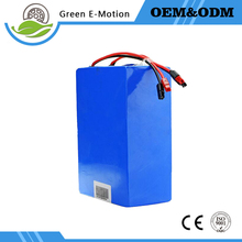 Custom 48V 1000W 20AH bike lithium battery high-power high-capacity electric vehicle lithium battery pack With charger