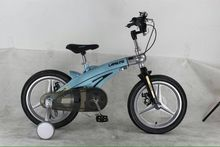 14inch LAN Q Kids bicycles Magnesium alloy telescopic children's bicycles disc brakes bicycle 14inch bike(China)