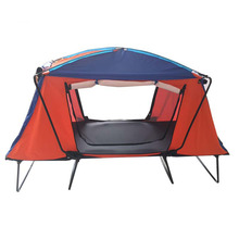 Outdoor Camping Folding Tent Waterproof Roof Tent Bed Oversize Tent Cot