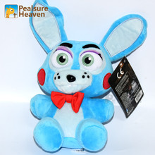 18 CM Doll Five 5 Nights at Freddy's Teddies Stuffed Plush Toy Role Cartoon Animal Kids Children Gift Freddys Blue rabbit China