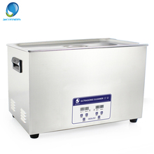 HOT Skymen Digital 30L 600W Ultrasonic Cleaner Bath Industrial Auto Motor Parts Carburetor Stainless Steel Heated Timer(China)