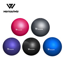 Pvc Swiss Balls Yoga Home Gym Exercise Pilates Fitness 75Cm With Pump Accessories