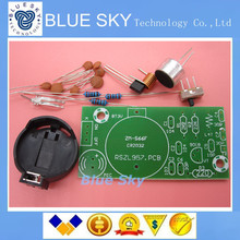 Simple FM FM wireless microphone parts electronic training DIY kit Kit