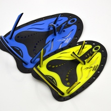 Professional Adjustable Silicone Swimming Paddles Training Hand Webbed Gloves Padel Fins Flippers Men Women Kids Learn Gear(China)