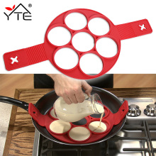 New Non Stick Nonstick Pancake Maker Egg Ring Maker Kitchen(China)