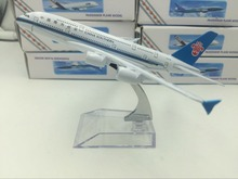 Cheerleading Souvenir 16cm Airplane Model China Southern A320 Airlines Aircraft Airways Airplane Model Plane Toy Gift(China)