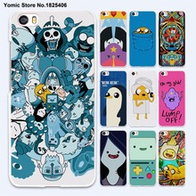 Adventure Time Finn and Jake Cartoon Fashion hard White Skin Case Cover for xiaomi 5s 5 5sPlus 4 4c 4s redmi 3 3s 4A note 3 4