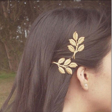 LZHLQ Cute Olive Leaf Hairwear Geometric Women Elegant Barrette Trendy Hairpins One Piece 2017 Fashion Brand Jewelry Accessories