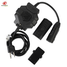 Outdoor Hunting Durable Element Z-Tactical Wireless Version Pin PTT Adapter For Radio & Headset Headphone For Tactical Tacticos(China)
