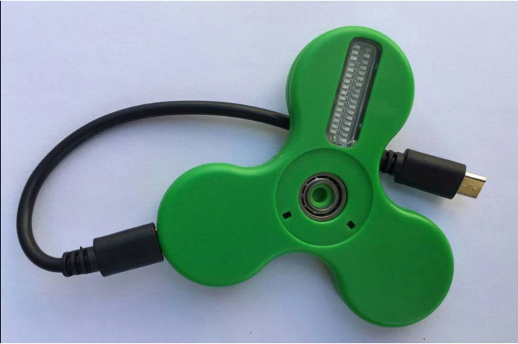 LED tulega bluetooth spinner