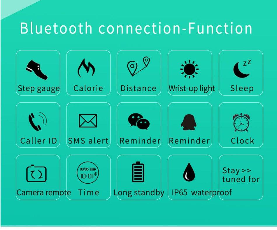 SANDA Bluetooth Smart Watch Men Women inteligente Sport Digital Clock For IOS Android Pedometer Fitness Smartwatch For iPhone 17