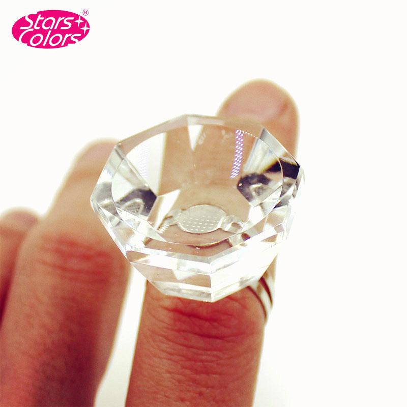 Professional Eyelash Crystal Glue Ring Finger Ring Adhesive Eyelash Extension False Eyelash Pallet Holder High Quality<br><br>Aliexpress