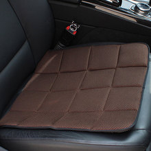 1Pcs New Bamboo Charcoal Breathable Seat Cushion Cover Pad Mat For Car Interior Accessories High Quality For Home Office