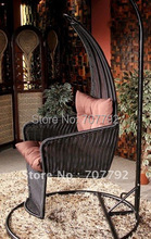 2017 Hot sale SG-TB-019 Rattan garden swing chair