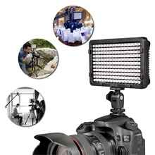 Portable 176Pcs LED Video Digital Photography Flash Fill Light Lamp with 2 Filter For Canon For Sony DSLR Camera Camcorder