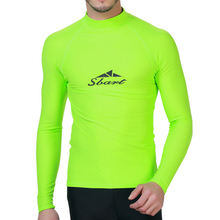 2017 Lycra Surf Rashguard Men Top Sharkskin Waterproof Long Sleeve Swimsuit Sunscreen Rash Guard Swim Surf Shirt Rushguard