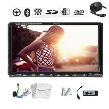 Video In Dash Radio Movie Car DVD Player SD Autoradio Electronics PC Stereo Logo Touchscreen CD AMP USB 2 Din Camera