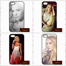 USA Carrie Underwood Cover case for iphone 4 4s 5 5s 5c 6 6s plus samsung galaxy S3 S4 mini S5 S6 Note 2 3 4   DE0327
