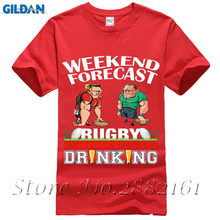 Ray oak band Men 2017 Brand Clothing Tees Casual Male Designing T-Shirt Details Weekend Forecast Rugbys Drinking T Shirt Making