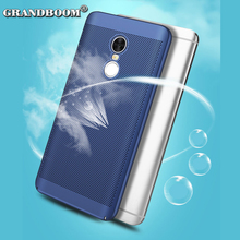 50pcs Heat Dissipation Cooling Case For Xiaomi Redmi 5A Plus 4X 3 2 1S Pro Note 5A 4X 3 2 1Phone Case Shockproof PC Mesh Cover(China)