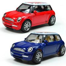 Classic toys! 1 : 43 Pull back the British flag high quality metal MINI cars toy, kids best gift, worth buying,Free Shipping