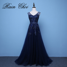 Long Evening Dress 2017 New Formal Wedding Party Dresses Robe de Soiree Longue Prom Gowns