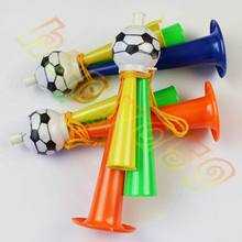 50pcs Colorful Three Tubes cheering High-pitched Voice Horns soccer football horn Party Carnival Sports Games Noice makers toy