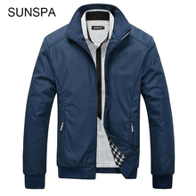 Buy SUNSPA New Jacket Men Overcoat Casual Bomber Jackets Mens Outwear Windbreaker Coat Jaqueta Masculina Veste Homme Brand Clothing for $21.45 in AliExpress store