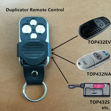 Copy CAME TOP432NA 434NA Duplicator 433.92 mhz Remote Control Universal Garage Door Gate Fob Remote Cloning 433mhz Transmitter(China)