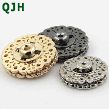 10pcs/lot Metal Snap Button Jacket Clasp Sewing Press Studs Buttons Snap Fastener Nasty Knob Stealth Buckle 18mm 21mm 25mm 2017