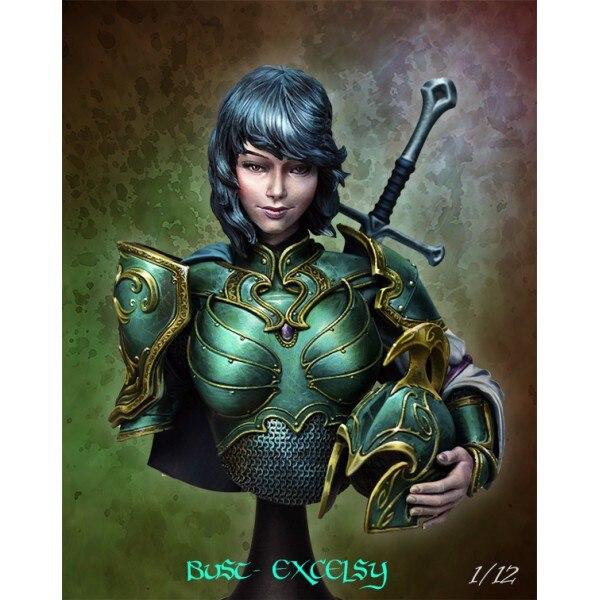 1/12 Resin Character Bust Science Fiction Fantasy Games GARAGE KIT Figure Model<br>